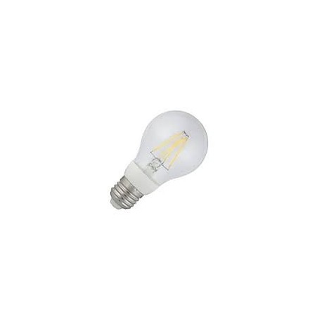 Lampara estandar led transparente 5 wts