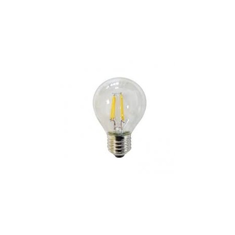 Lampara Esferica LED decorativa filamento 4wts 220v